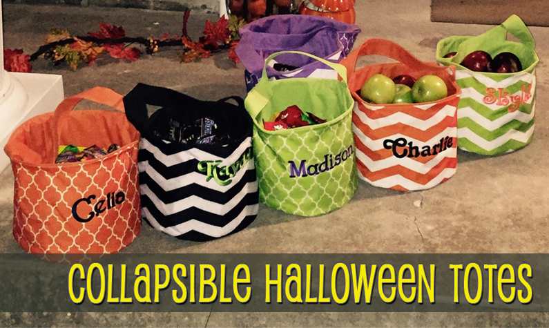 Halloween Totes & Treat Bags