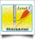 StitchArtist Level 3 by Embrilliance Embroidery Software DOWNLOADABLE