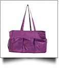 Oversized Craft & Garden Multi-Purpose Carry-All Tote - PURPLE - CLOSEOUT