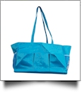 Oversized Craft & Garden Multi-Purpose Carry-All Tote - AQUA - CLOSEOUT