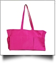 Oversized Craft & Garden Multi-Purpose Carry-All Tote - HOT PINK - CLOSEOUT