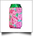 The Floridian Series 12oz Neoprene Can Koozie - RAVISHING ROSES
