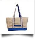 Gameday EasyStitch Insulated Tote Bag - BLUE - CLOSEOUT