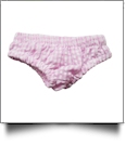 "Gingham Diaper Cover for 18"" Dolls - LIGHT PINK - CLOSEOUT"