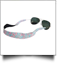 The Floridian Series Neoprene Sunglass Retainer Straps - FUN LOVING FLAMINGOS