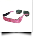 The Floridian Series Neoprene Sunglass Retainer Straps - RAVISHING ROSES