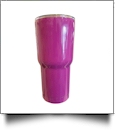30oz Double Wall Stainless Steel Super Tumbler - MAGENTA - CLOSEOUT