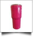 30oz Double Wall Stainless Steel Super Tumbler - HOT PINK