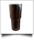 30oz Double Wall Stainless Steel Super Tumbler - BLACK