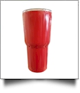30oz Double Wall Stainless Steel Super Tumbler - RED
