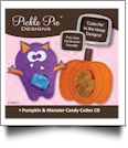 Pumpkin & Monster Candy Cuties Collection Embroidery Designs on CD-ROM by Pickle Pie Designs