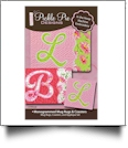 Monogrammed Mug Rugs & Coasters Collection Embroidery Designs on CD-ROM by Pickle Pie Designs