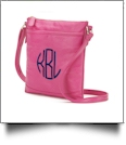 Crossbody Monogrammable Purse - HOT PINK - SPECIAL PURCHASE