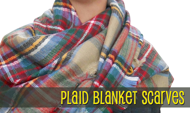 Blanket & Oversized Scarves