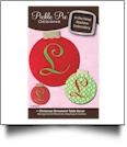 Christmas Ornament Table Decor Collection Embroidery Designs on CD-ROM by Pickle Pie Designs