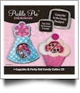 Cupcake & Party Hat Candy Cuties Collection Embroidery Designs on CD-ROM by Pickle Pie Designs