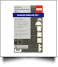 Westalee Design 6 Piece Sampler Template Set