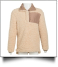 Kid's Warm & Cozy Sherpa Pullover - TAN - CLOSEOUT
