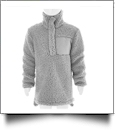 Kid's Warm & Cozy Sherpa Pullover - GRAY