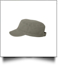 "Alternative Bio-Washed Military ""Fidel"" Cap Embroidery Blanks- CLOSEOUT"