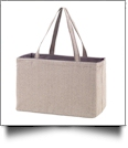 Ultimate Tote Embroidery Blank - HERRINGBONE