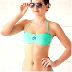 Bandeau Bikini Tops Embroidery Blanks