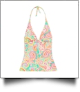 Tankini Swimsuit Top - SUMMER PAISLEY - CLOSEOUT