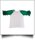 Icing Raglan Baseball Shirt - GREEN - SIZE 5T - IRREGULAR