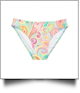 Bikini Swimsuit Bottom Embroidery Blanks - SUMMER PAISLEY - CLOSEOUT