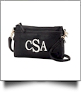 Bree Crossbody Monogrammable Purse - BLACK - SPECIAL PURCHASE