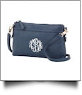 Bree Crossbody Monogrammable Purse - NAVY - SPECIAL PURCHASE