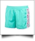Mia Tile Active Shorts - CLOSEOUT