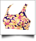 Beach Floral Sports Bra - SPECIAL PURCHASE