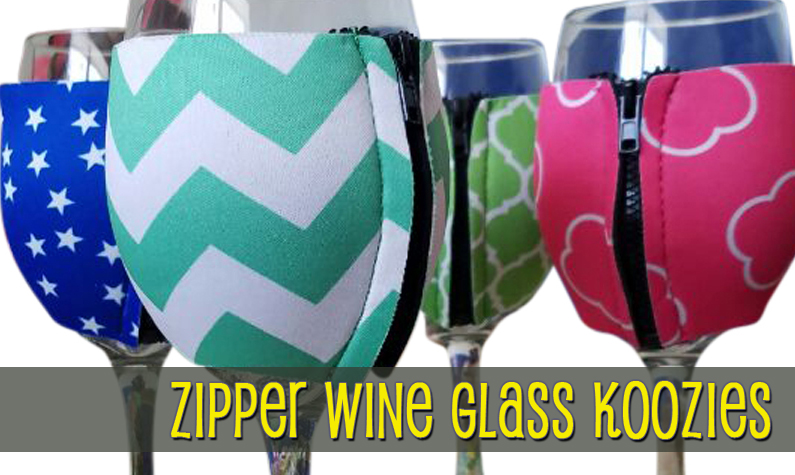 Wine Glass Koozies