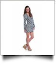 Mud Pie Totable Tunic Cover-Up in Black Fanshell - CLOSEOUT