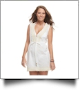 Jute Trim Cover-Up in White - SPECIAL PURCHASE