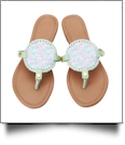 The Floridian Series EasyStitch Medallion Sandals - LOVELY LOBSTERS