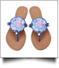 The Floridian Series EasyStitch Medallion Sandals - STAR FISH