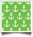 Anchor Print QuickStitch Embroidery Paper - One 8.5in x 11in Sheet - LIME