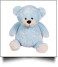 "Embroidery Buddy Stuffed Animal - Mister Buddy Bear 20"" - BLUE"