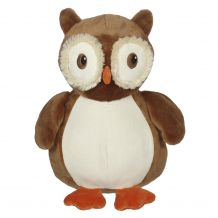 Embroidery Buddy Stuffed Animal - Okie Owl 16""