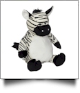 Embroidery Buddy Stuffed Animal - Zachary Zebra 16""