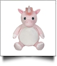 "Embroidery Buddy Stuffed Animal - Whimsy Unicorn 16"" - VIOLET"