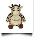 Embroidery Buddy Stuffed Animal - Googie Giraffe 16""