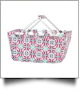Foldable Market Tote Embroidery Blanks - MIA TILE