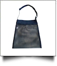 Sea Shell & Pool Toy Mesh Tote With Adjustable Strap - NAVY