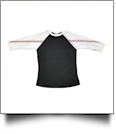 The Coral Palms™ Sports Raglan Shirt - BASEBALL/BLACK