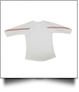 The Coral Palms™ Sports Raglan Shirt - BASEBALL/WHITE