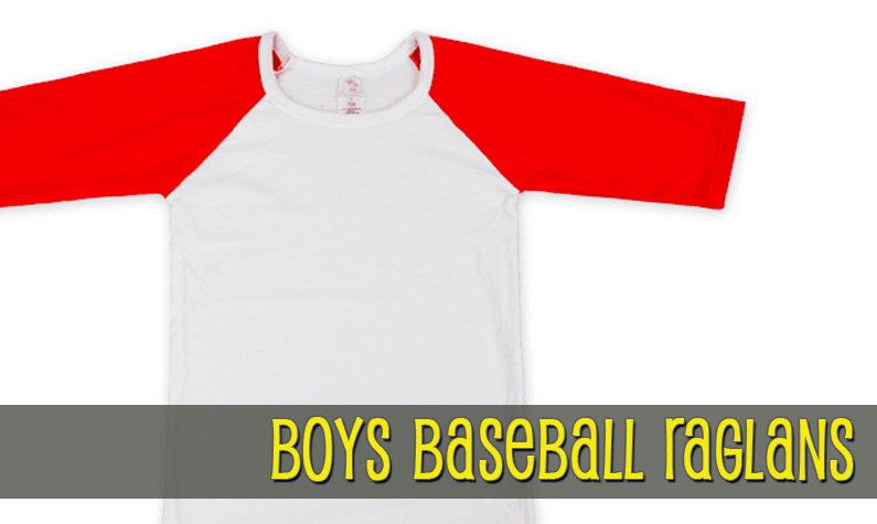 Raglan Baseball Shirts
