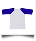 The Coral Palms™ Toddler Raglan Baseball Shirt - BLUE